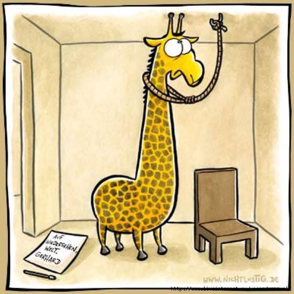 Месяцев, жираф рисунки смешные